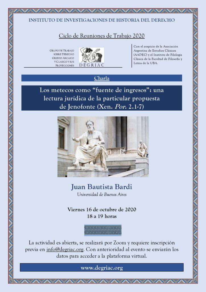 Reunión DEGRIAC Bardi 2020